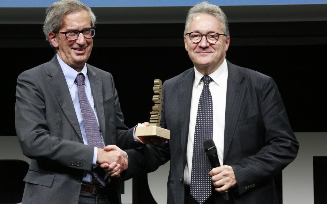 Emilio Albertini imprenditore dell'anno agli Oscar della Stampa 2019