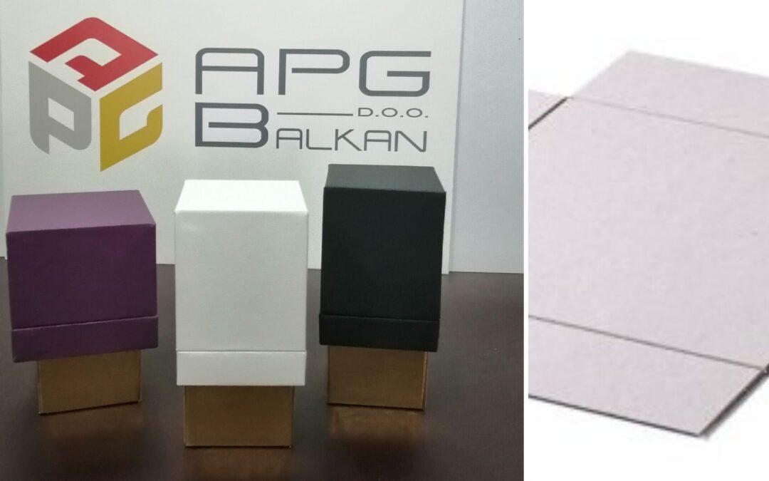 APG si specializza nella produzione di scatole ad angolo vivo