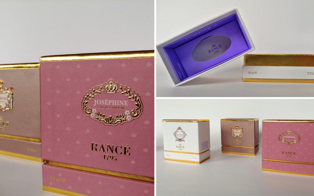 Eleganza e stile nella stampa a caldo: il packaging della Tradizione Unica ed Eccellenza Contemporanea della Maison RANCÉ1795